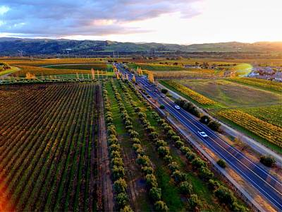 Photograph - Livermore Wine Country--las Positas Winery by John King