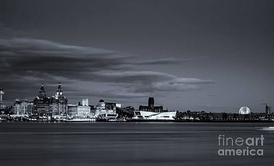 Photograph - Liverpool Cityscape by Andrew White