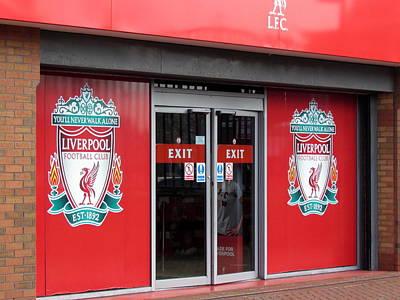 Photograph - Liverpool Cloub Shop. by Joyce Woodhouse