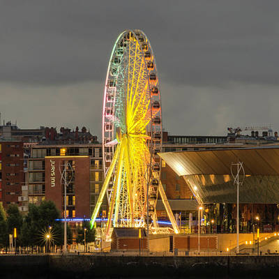Photograph - Liverpool Eye by Spikey Mouse Photography