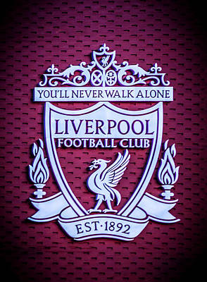 Liverpool Photograph - Liverpool Fc Crest by Paul Madden