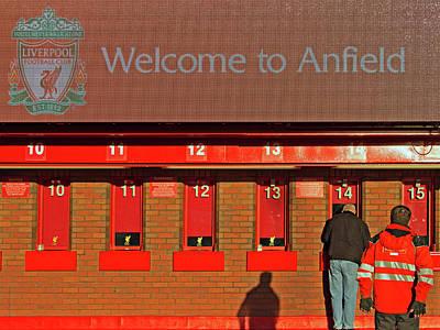 Liverpool Football Club Ticket Office Art Print