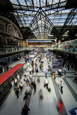 Photograph - Liverpool St Station by Steve Caldwell