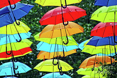 Photograph - Liverpool Umbrella Project by Doc Braham