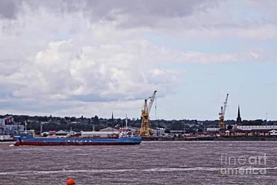 Photograph - Liverpool's Albert Docks. by Doc Braham