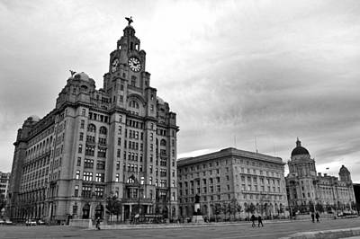 Sports Royalty-Free and Rights-Managed Images - Liverpools Three Graces by Colin Perkins