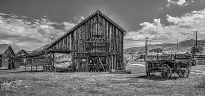 Photograph - Livery Feed And Grain Stable by Richard J Cassato