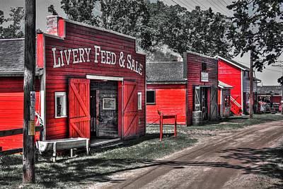 Photograph - Livery Feed by David Matthews