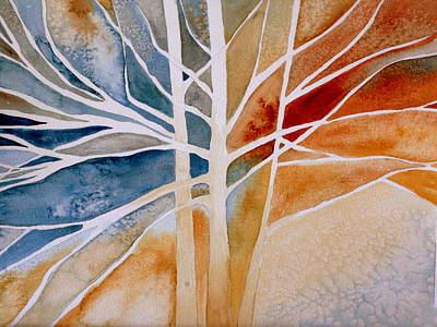 Painting - Lives Intertwined 2 by Julie Lueders