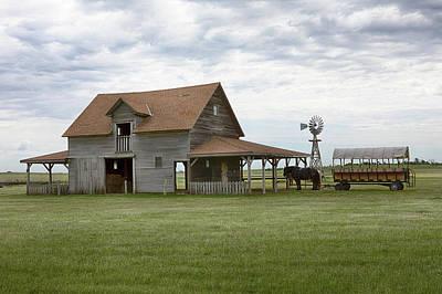 Photograph - Livestock Barn by Susan Rissi Tregoning