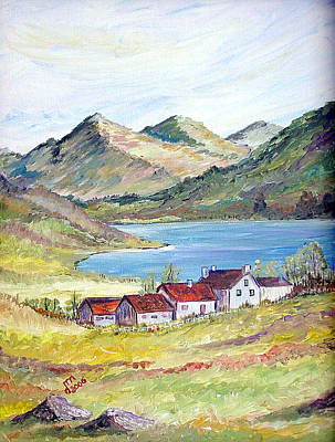 Painting - Living At The Lake by Dorothy Maier