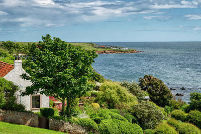 Photograph - Living By The Sea In Crail, Fife by Jeremy Lavender Photography