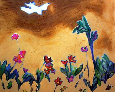 Painting - Living Earth by Winsome Gunning