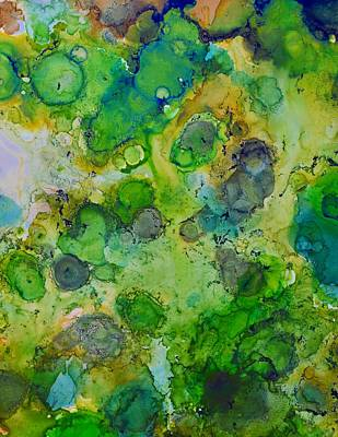 Painting - Living Forest by Laini Eckardt