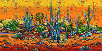 Painting - Living In The Land Of Sunshine by Alexandria Winslow
