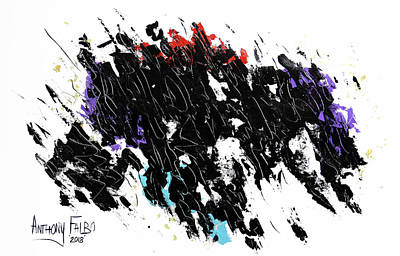 Painting - Living In The Light John 1-5 by Anthony Falbo
