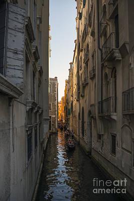 Living In Venice  Art Print by Svetlana Sewell