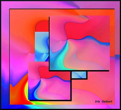 Digital Art - Living by Iris Gelbart