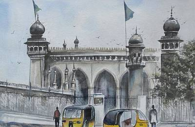 Living Legend Mecca Mazjid Art Print