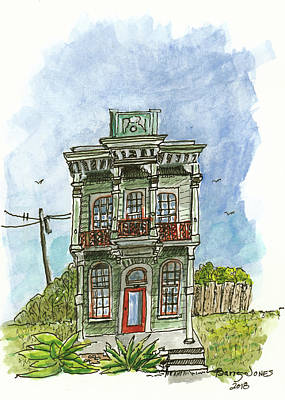 Mixed Media - Living Nola Style by Barry Jones