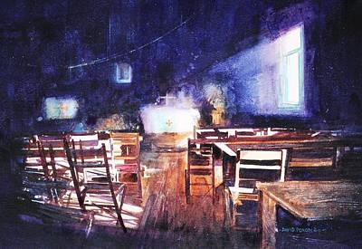 Painting - Living On A Prayer by David  Poxon