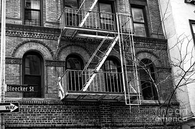 Photograph - Living On Bleeker Street by John Rizzuto