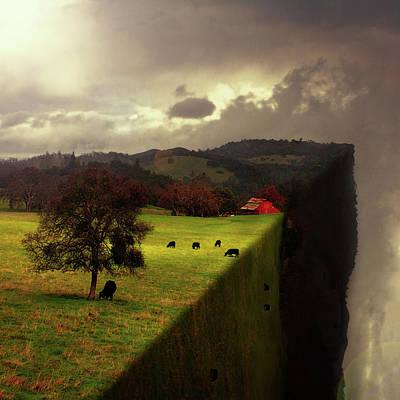 Digital Art - Living On The Edge by Eleanor Caputo