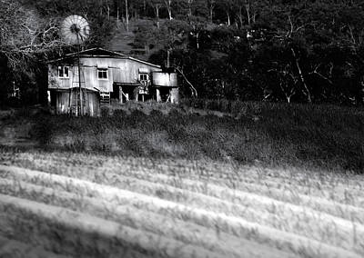 Ploughed Photograph - Living On The Land by Holly Kempe