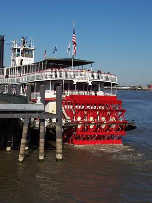Photograph - Living On The Mississippi by William Albanese Sr