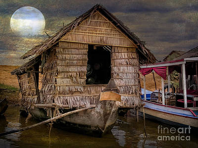 Bamboo Photograph - Living On The River by Adrian Evans