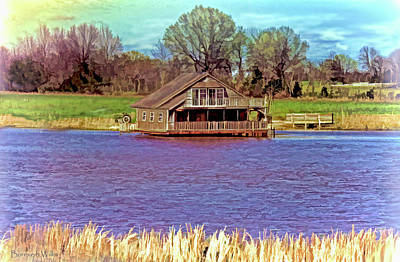 Photograph - Living On The Water by Bonnie Willis