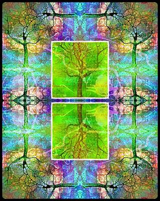 Nature Abstract Digital Art - Living Outside The Box by Tara Turner