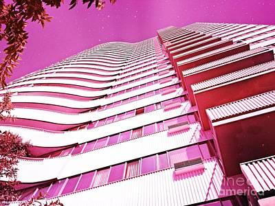 Living Pink Art Print