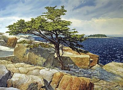 Painting - Living Rock by Tom Wooldridge