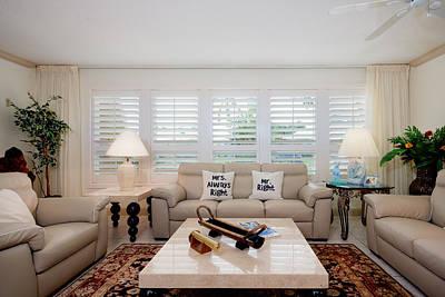 Photograph - Living Room by Jody Lane