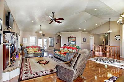 Photograph - Living Room by Richard Lynch