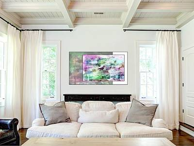 Photograph - Living Room With Cloud Yoga by Dorothy Berry-Lound