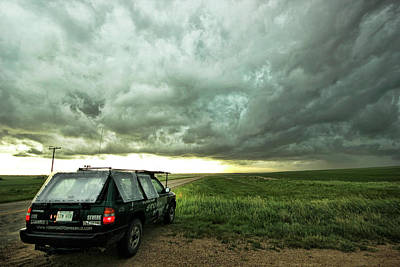 Photograph - Living Saskatchewan Sky by Ryan Crouse