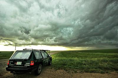 Photograph - Living Saskatchewan Sky by Ryan Crouse