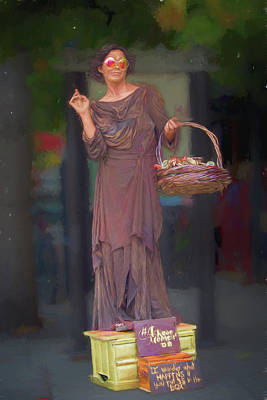 Photograph - Living Statues Of Asheville by John Haldane