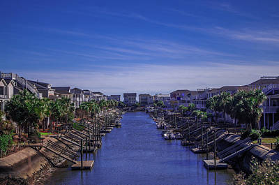 Photograph - Living The Canal Lifestyle by Gerald Monaco