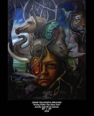 Living Under The Same Sun Original by Cesar Delgado