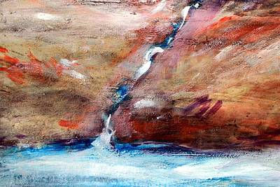 Painting - Living Water by Winsome Gunning