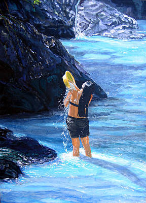 Painting - Living Waters by Sarah Hornsby