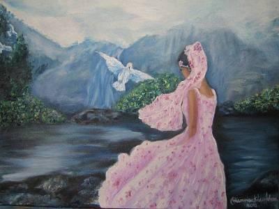 Painting - Living With Hope by Wanvisa Klawklean
