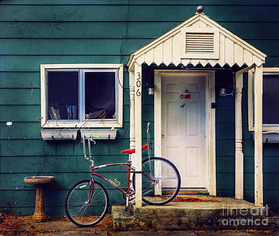 Art Print featuring the photograph Livingston Bicycle by Craig J Satterlee
