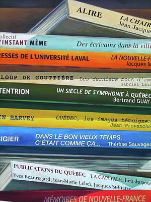 Livres ... Art Print