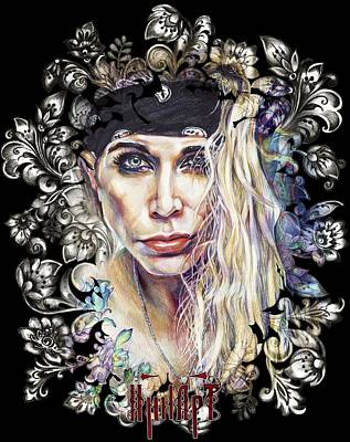 Panther Drawing - Lixxi Foxx Steel Panther by Inna Volvak