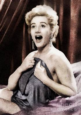 Liz Fraser, Vintage British Actress Art Print