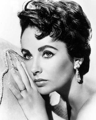 Liz Taylor Art Print by American School